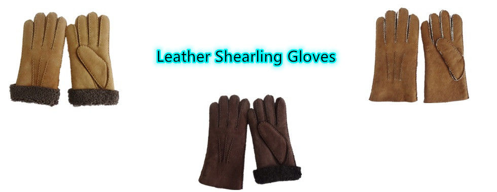 China best Shearling Sheepskin Gloves on sales