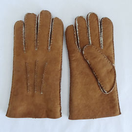 High quality shearling sheepskin gloves Merino shearling men's sheepskin gloves