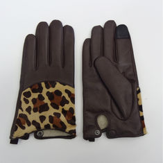 Leather Shearling Gloves