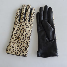 Fashion Touchscreen Winter Gloves , Comfortable Womens Leather Dress Gloves