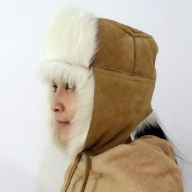 Trooper Style Earflap Military Winter Hat , Girs Adults Toscana Ushanka Fur Hat