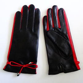 Leather Gloves Lining Wool Ladies Leather Gloves